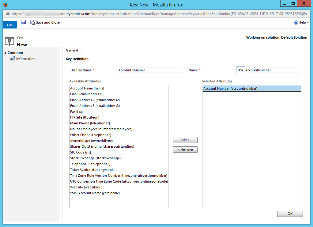 detect entity change on form crm 2016