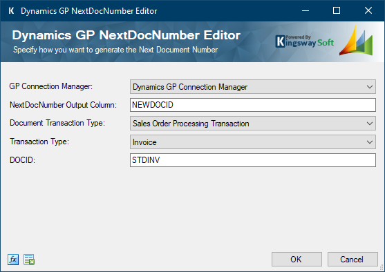 Microsoft Dynamics GP Next Document Number