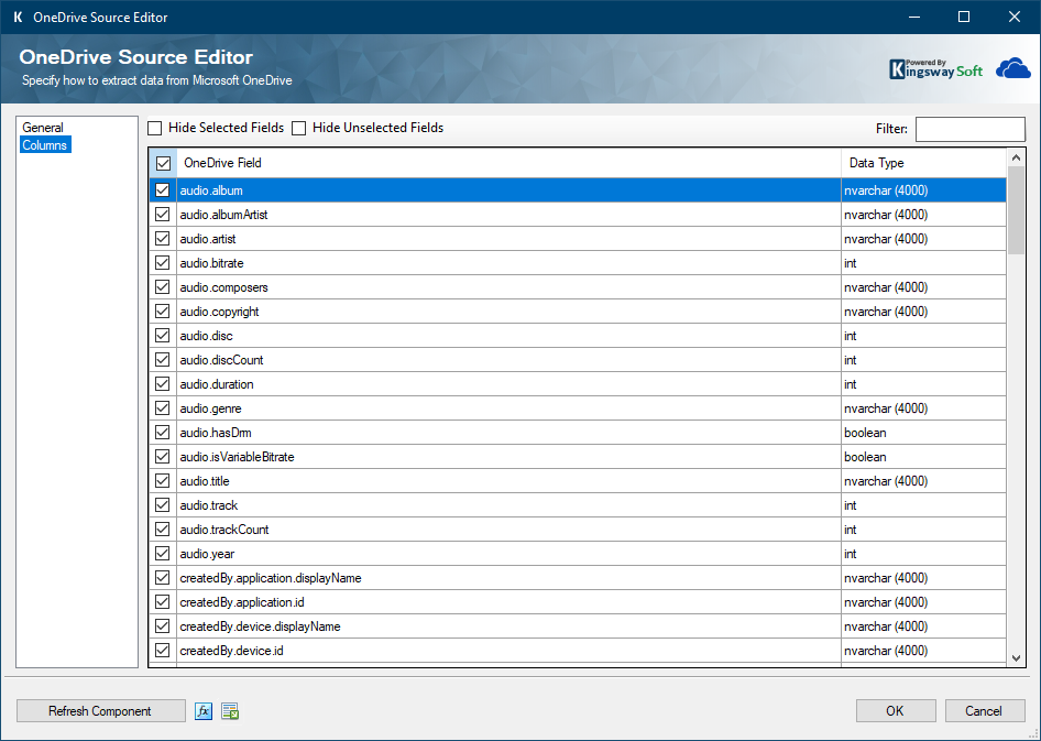 OneDrive Source Editor