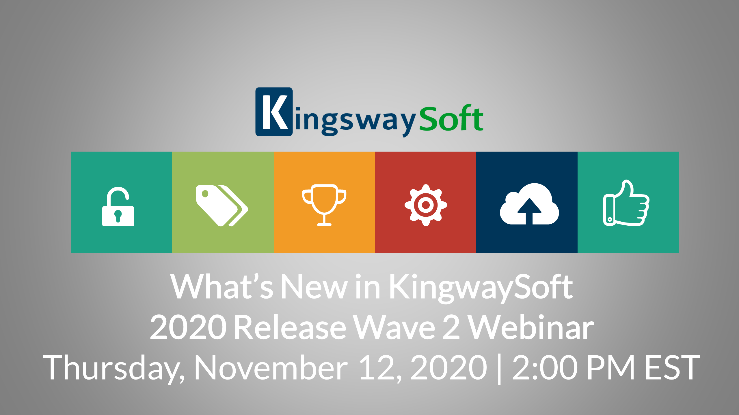 KingswaySoft 2020 Release Wave 2 Demonstration Webinar