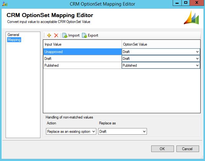 SSIS OptionSet Mapping Component