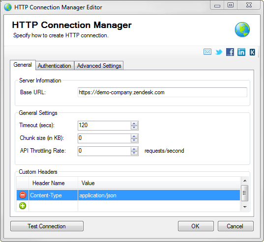 SSIS REST API Connection Manager