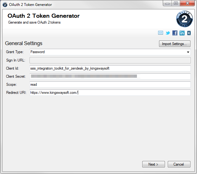 How to Work with Different OAuth 2 0 Grants in SSIS