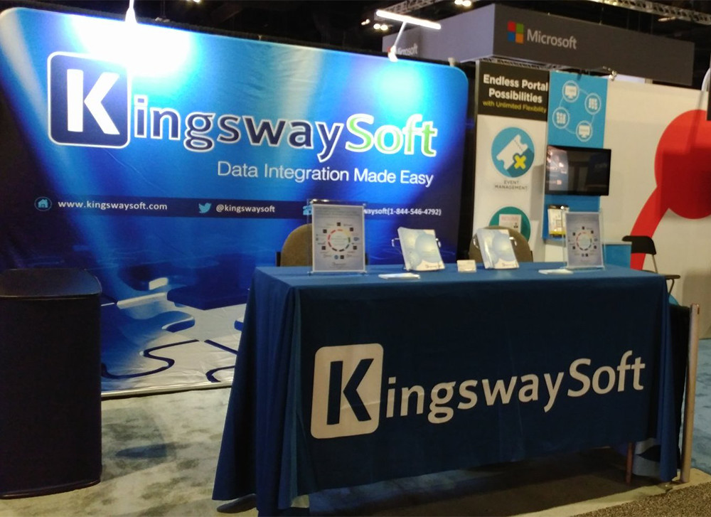 KingswaySoft Booth at UG Summit