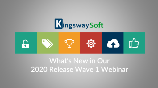 What's New with Our 2020 Release Wave 1 Webinar