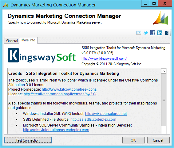 Dynamics Marketing Connection Manager