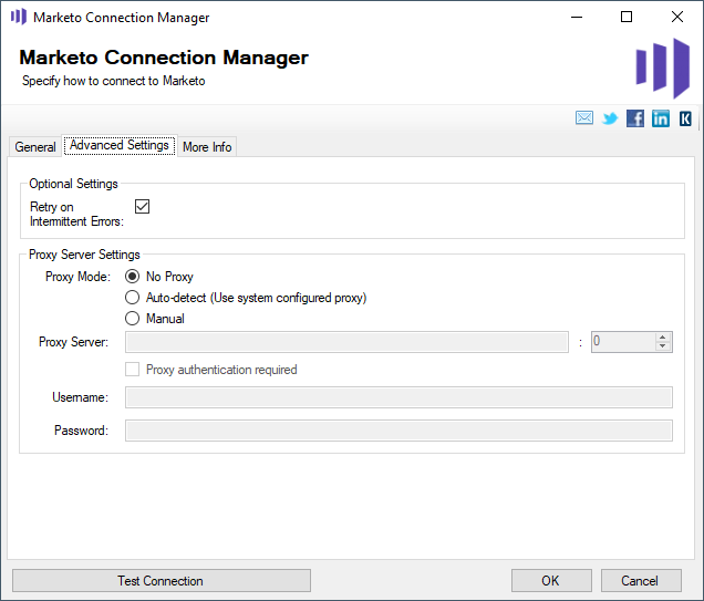 Marketo Connection Manager