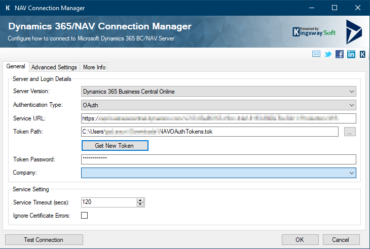 NAV Connection Manager