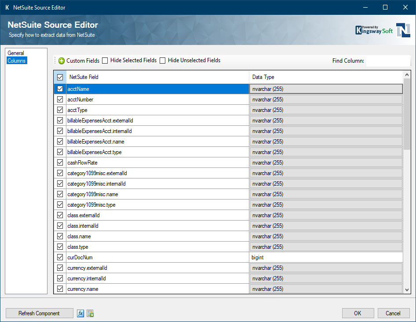 Help Manual - NetSuite Data Integration