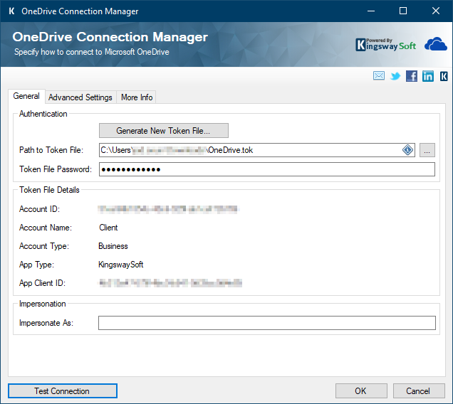 OneDrive Connection Manager