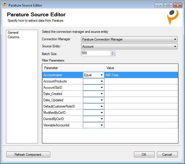Parature Source Editor