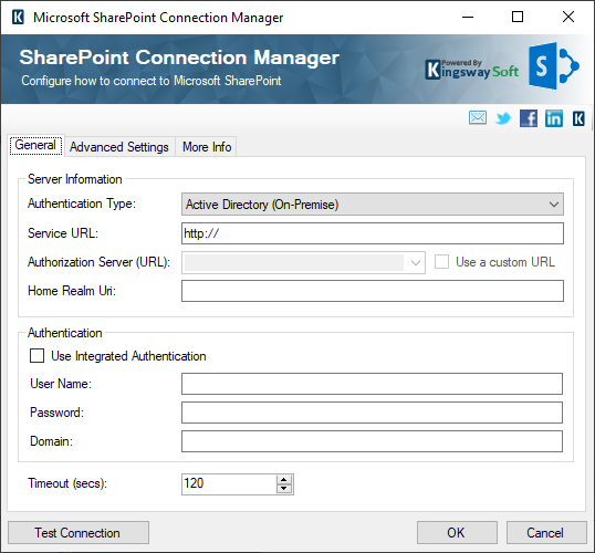 Microsoft SharePoint SSIS Connection Manager