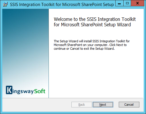 SharePoint Integration installation