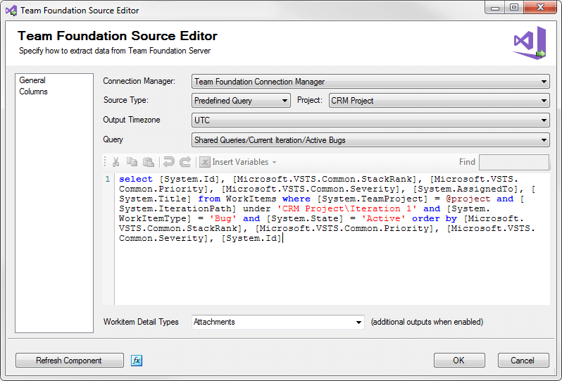 SSIS Integration Toolkit for TFS - TFS Source Component