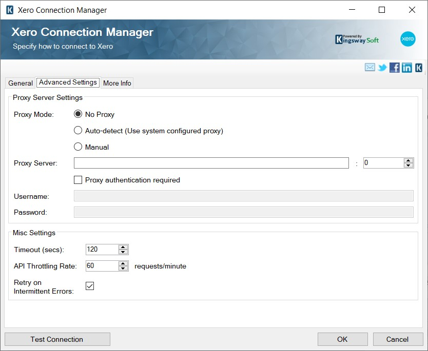 Xero Connection Manager