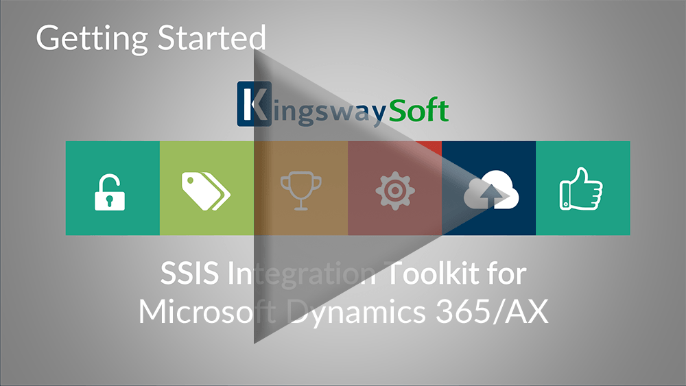 Youtube Video - Getting started with the SSIS Integration Toolkit for Microsoft Dynamics 365-AX