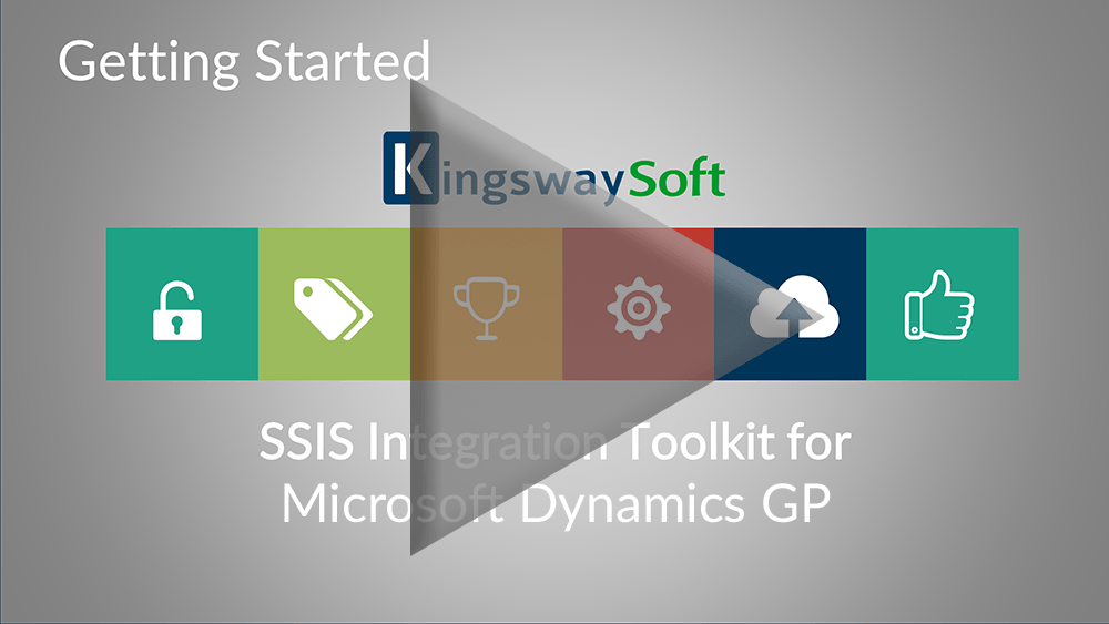 Youtube Video - Getting started with the SSIS Integration Toolkit for Dynamics GP