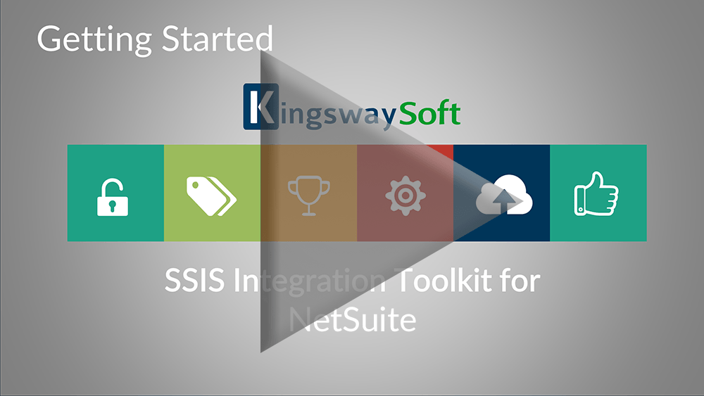 Youtube Video - Getting started with the SSIS Integration Toolkit for NetSuite