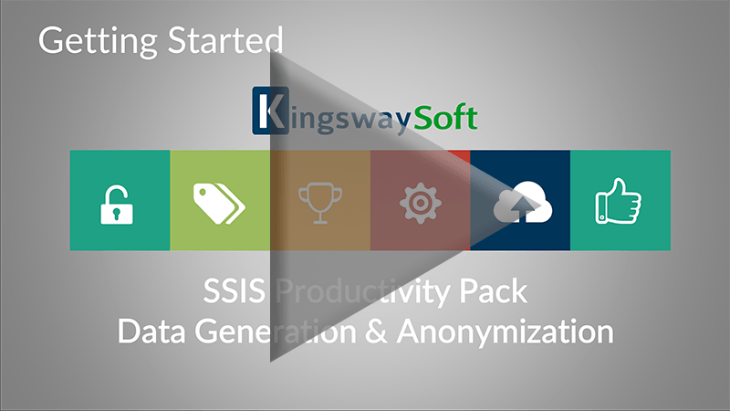 Youtube Video - Getting started with SSIS Productivity Pack - Data Generation and Anonymization Components