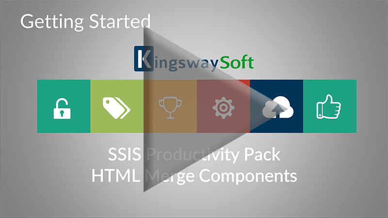 Youtube Video - Getting started with SSIS Productivity Pack - HTML Merge