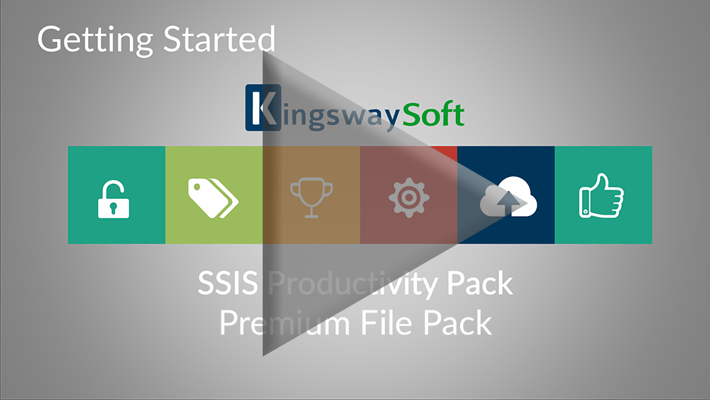 Youtube Video - Getting started with SSIS Productivity Pack - Premium File Pack