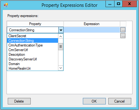 Property Expression Editor