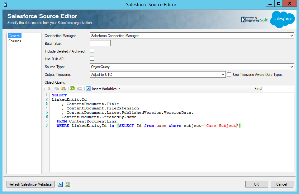 Salesforce Source Editor - Specific Record