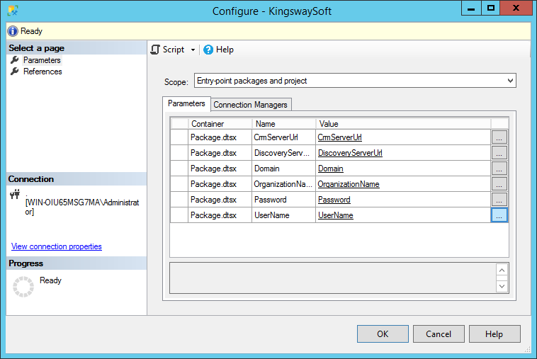 Configure KingswaySoft